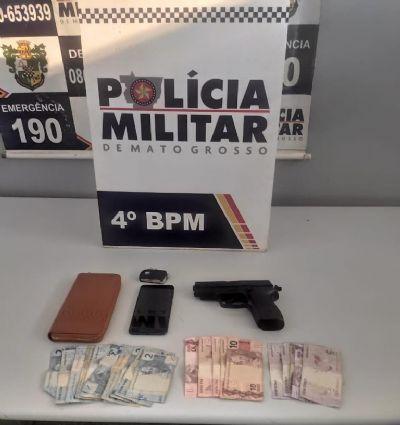 PM prende dupla que roubou carro e torturou motorista em Várzea Grande