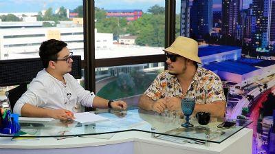Billy Espíndola apresenta, com exclusividade, clipe bombástico para os 300 anos de Cuiabá - vídeo