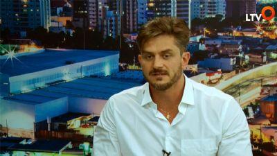 Marcos Harter fala de seus projetos sociais e suas  polêmicas na internet ao LTV