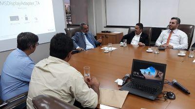 Deputado João Batista lidera comitiva de Santo Antônio do Leste ao TJMT