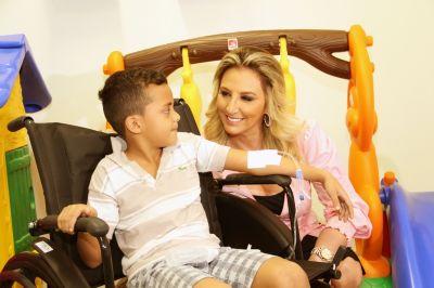 Ala pediátrica do Hospital Municipal de Cuiabá recebe brinquedoteca