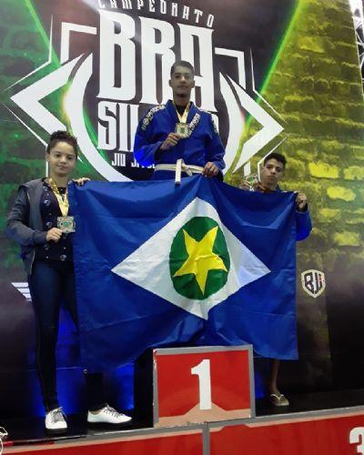 Atletas de Mato Grosso participam de campeonato Brasileiro de Jiu-Jitsu Esportivo em São Paulo