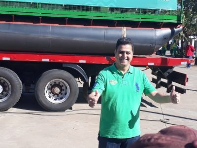 Primeira balsa ecológica recolherá 500 kg de lixo por dia no Rio Cuiabá - Vídeo