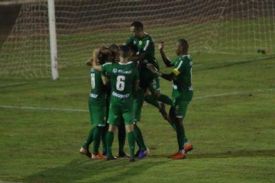 Cuiabá sai na frente, mas sofre empate do Costa Rica-MS e desperdiça chance da vantagem