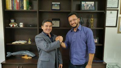 Deputado reafirma  apoio a pré-candidatura de PM a prefeito de Santo Antônio de Leverger