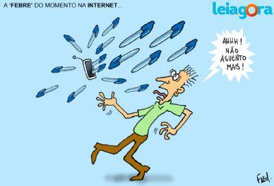 A febre do momento na internet