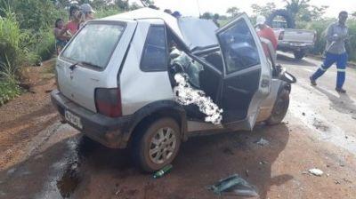Acidente entre dois veículos na MT-430 no Araguaia e deixa duas vítimas fatais