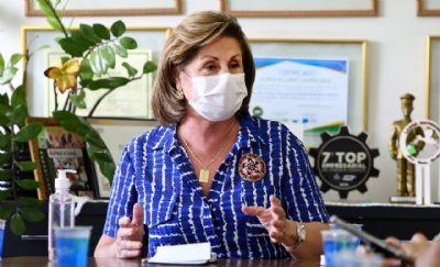 Lucimar destinará mais R$ 20 milhões do governo federal para a Saúde