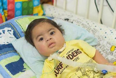 Campanha pede doações para bebê de Cuiabá que precisa do remédio mais caro do mundo