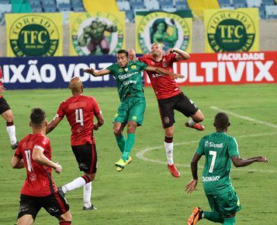 Cuiabá estreia com empate sem gols no Brasileirão