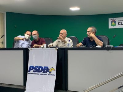 Com voto contrário de Wilson, PSDB oficializa apoio a Emanuel