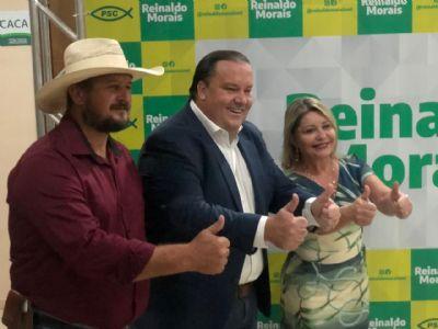 Com apoio de Selma, Reinaldo é homologado pré-candidato ao Senado pelo PSC