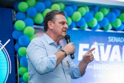 Ausência de governador e prefeito marcam ato de lançamento da campanha de Fávaro
