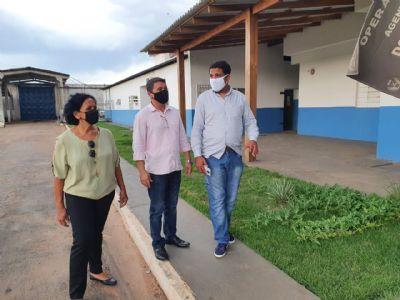 João Batista visita PCE, fala sobre atuação de facções e lembra indicação destinada ao Governo