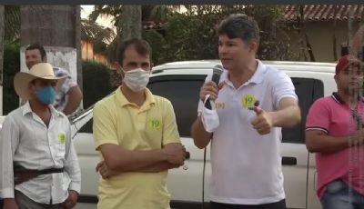 Candidato do Podemos nega apoio à coronel Fernanda