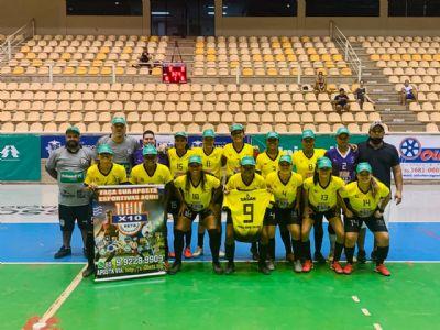 Time de Cáceres tem vantagem na Copa do Brasil de Futsal Feminina
