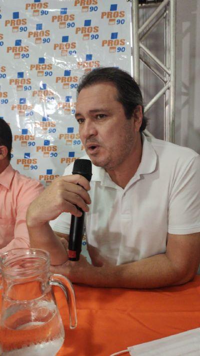 Euclides segue Gisela e declara apoio à candidatura de Abílio a prefeito de Cuiabá