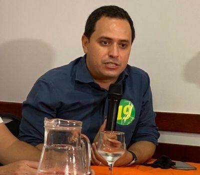 Vereador mais votado, Diego descarta buscar presidência da Câmara