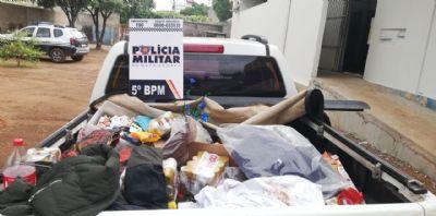 Bandidos lotam caçamba de caminhonete em roubo, mas são localizados por GPS da vítima