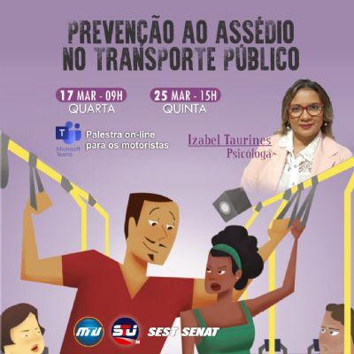 Prevenção ao assédio no transporte público