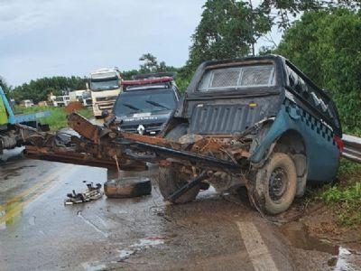 Sesp identifica policiais penais vítimas de acidente na BR-163
