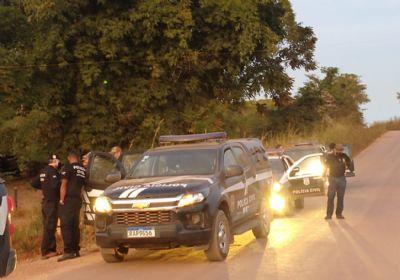 Pessoa é presa em flagrante com arma de fogo na Operação Ares