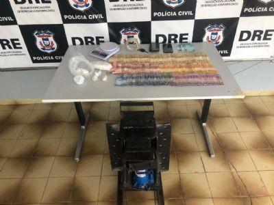Casal é preso por tráfico de drogas na Capital