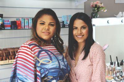 Irmãs apostam no mercado de beleza e inauguram loja a partir de R$10