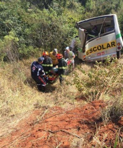 Acidente entre caminhão e ônibus escolar em SP mata 3 crianças e deixa 15 feridas
