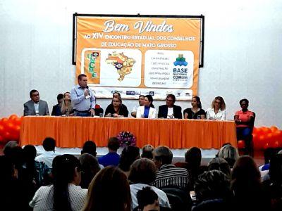Várzea Grande participa do XIV Encontro Regional de Conselhos de Educação de Mato Grosso