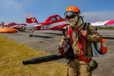Estado contará com 8 aeronaves para combate aos incêndios florestais