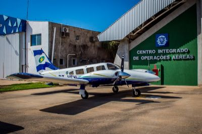 Justiça autoriza Ciopaer a utilizar aeronave apreendida