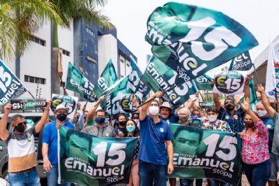 Emanuel libera evento para 300 pessoas, mas se recusa a ir em debate por 'biossegurança'