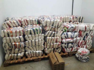 Peladão 2020 distribui mais de cinco toneladas de alimentos a instituições sociais