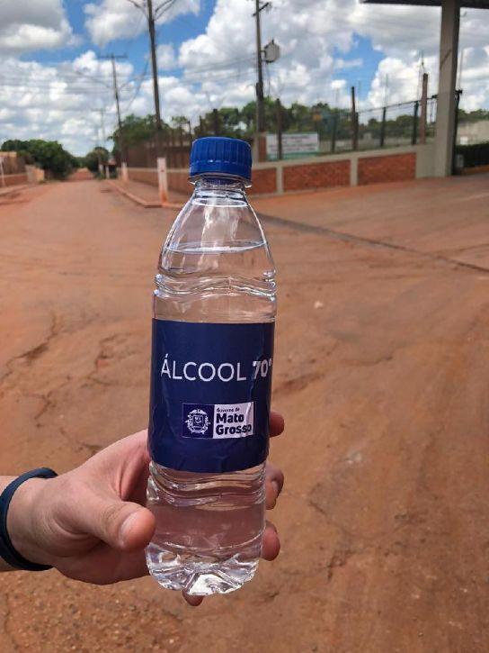 Governo do Estado distribui 300 mil litros de álcool 70 ...