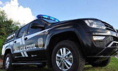 Operação cumpre mandados contra autores de roubos de veículos em chácaras do Sucuri