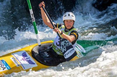 Ana Sátila garante vaga em duas modalidades da canoagem slalom na Olimpíada de Tóquio 2020