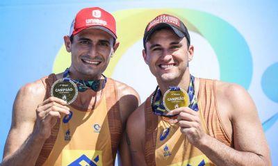 André e George faturam 1ª etapa do Circuito Nacional de Vôlei de Praia