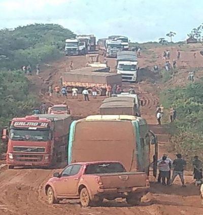 Período chuvoso no Araguaia causa transtorno aos motoristas