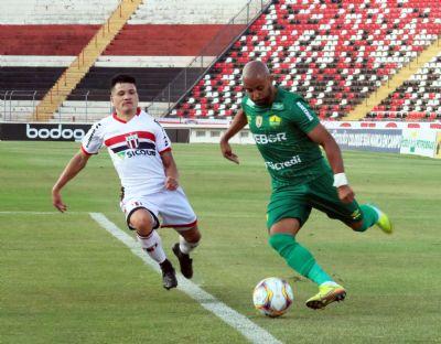 Cuiabá empata com Botafogo-SP e segue invicto na série B