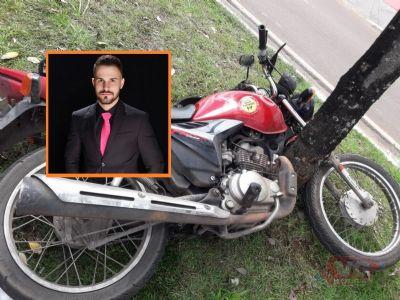 Filho de secretário de Nobres morre em acidente de moto