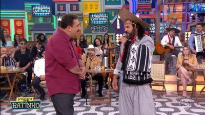 Baitaca faz sucesso no Programa 'Boteco do Ratinho' com músicas gaúchas