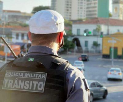 Batalhão de Trânsito alerta ciclistas para uso obrigatório de equipamentos de segurança