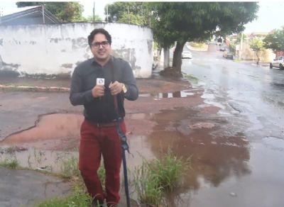 Jardim Cuiabá: moradores sofrem com enormes buracos nas ruas - veja vídeo