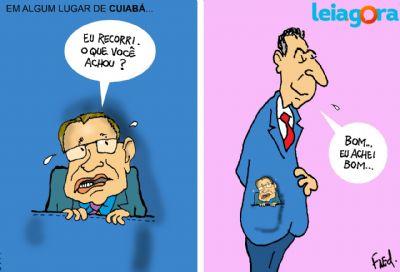 Em algum lugar de Cuiabá. . .