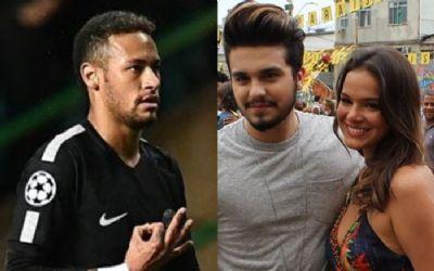 Após climão com Bruna Marquezine, Neymar e Luan Santana criam nova rixa em comentários de publicação