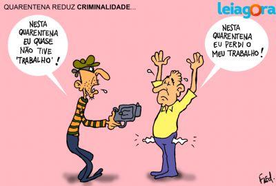 Quarentena Reduz Criminalidade