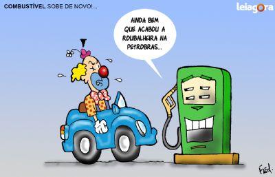 Combustível Sobe de Novo