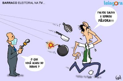 Barraco Eleitoral na TV