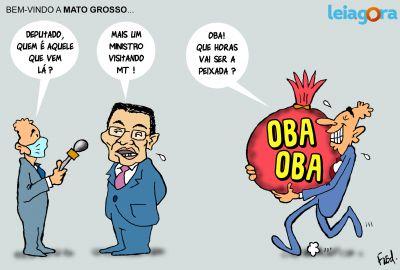 Bem-vindo a Mato Grosso